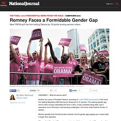 Romney Faces a Formidable Gender Gap