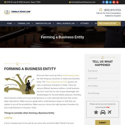 Start your Small Businesses - Law Attorneys in Houston