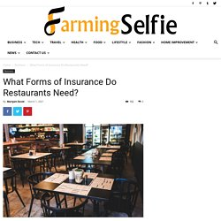 What Forms of Insurance Do Restaurants Need?