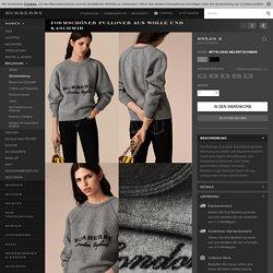 Formschöner Pullover aus Wolle und Kaschmir Mittelgrau Meliert/schwarz