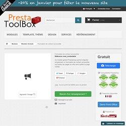 Formulaire de contact accessible - PrestatoolBox