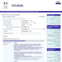 EDU'bases en EPS - Formulaire de recherche et résultats pour : Collège