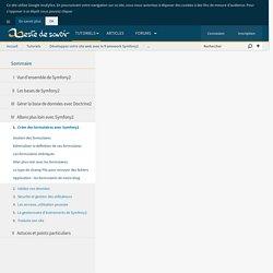 Créer des formulaires avec Symfony2 - Développez votre site web avec le framework Symfony2