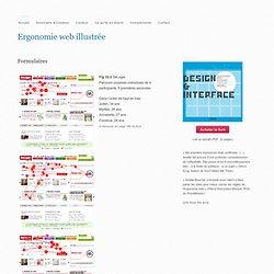 Formulaires « Ergonomie web illustrée