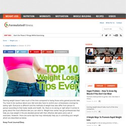 The Best Weight-Loss Tips Ever