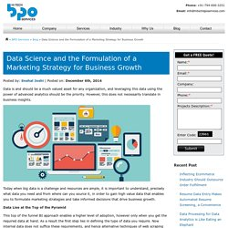 Data Science and the Formulation of a Marketing Strategy for Business Growth