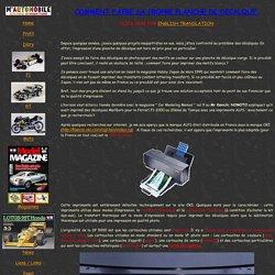 Formule 1/20éme: l'impression de décalques