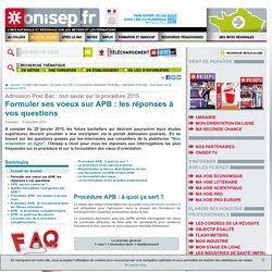 Formuler ses voeux sur APB : les réponses à vos questions