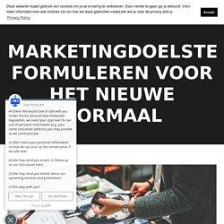Marketingdoelstellingen formuleren voor bedrijfsgroei