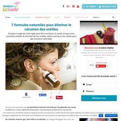 7 formules naturelles pour éliminer le cérumen des oreilles - Améliore ta Santé