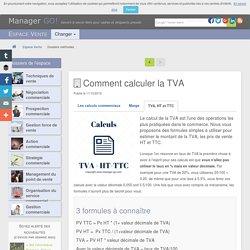 Calcul de la TVA - des formules simples et exemples