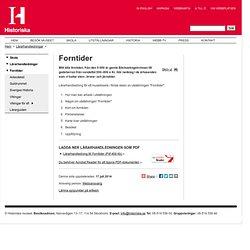 Forntider - Historiska