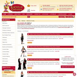 Buy designed forplay costumes from Online Halloween fancy costume shops