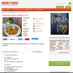 Forrázott gombóc vadassal recept - Tészták - Receptvarázs – receptek képekkel