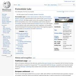 Forrestdale Lake