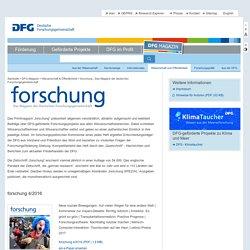 forschung - Das Magazin der deutschen Forschungsgemeinschaft