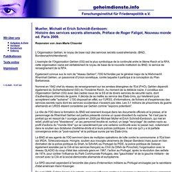 - Forschungsinstitut für Friedenspolitik e.V.