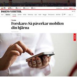 Forskare: Så påverkar mobilen din hjärna