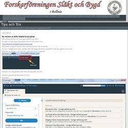 Forskarföreningen Släkt och Bygd i Bollnäs. » Tips och Trix