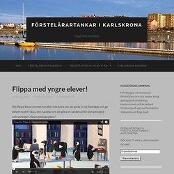Förstelärartankar i Karlskrona