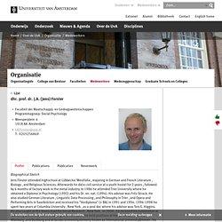prof. dr. J.A. (Jens) Forster