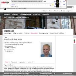webarchive: Publications Jens Förster