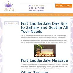 Fort Lauderdale Day Spa JothiVita
