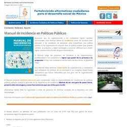 Fortaleciendo alternativas ciudadanas para el desarrollo social de México