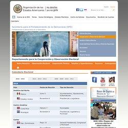 Secretaría de Asuntos Políticos - Departamento para la Cooperación y Observación Electoral