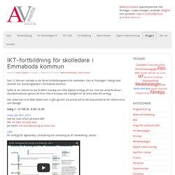 IKT-fortbildning för skolledare i Emmaboda kommun