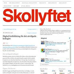 Digital fortbildning för det utvidgade kollegiet