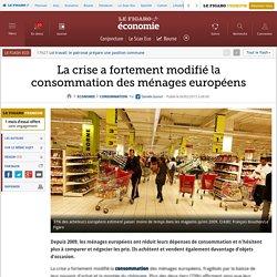 La crise a fortement modifié la consommation des ménages européens