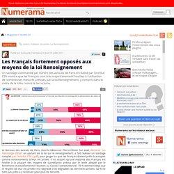 Les Français fortement opposés aux moyens de la loi Renseignement