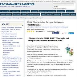 PSMA Therapie