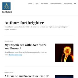 forthrighter – Forthright