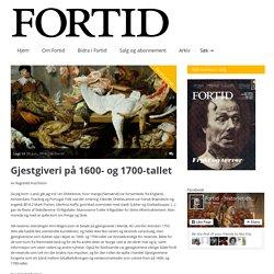 Fortid » Gjestgiveri på 1600- og 1700-tallet