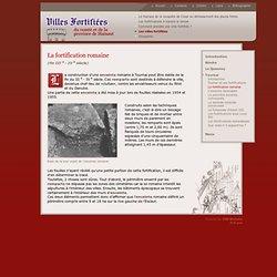 Villes Fortifiées du comté et de la province de Hainaut - La fortification romaine