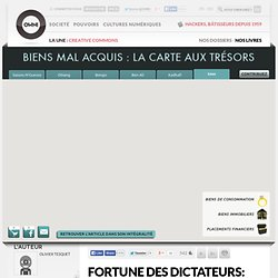 Maps Fortune des dictateurs