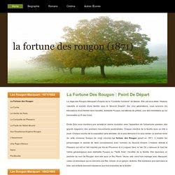 La Fortune des Rougon : le premier roman des Rougon-Macquart
