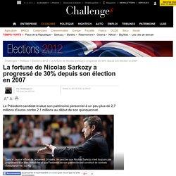 La fortune de Nicolas Sarkozy a progressé de 30% depuis 2007