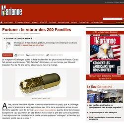Fortune : le retour des 200 Familles