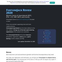 FortuneJack Review 2020 ❤️ BTC Casino