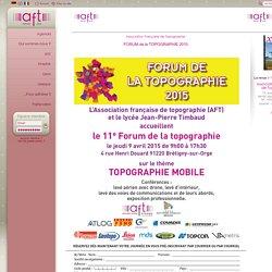 Forum de l'AFT