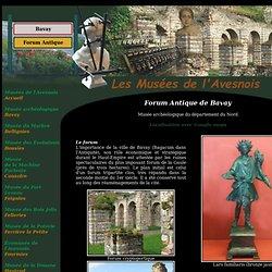 Forum antique de Bavay : Musée et site archéologique.