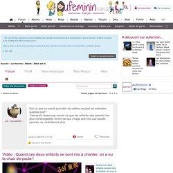 : Forum Bébé est là - auFeminin