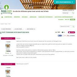 Forum www.bois.com : Toit terrasse sur ossature bois
