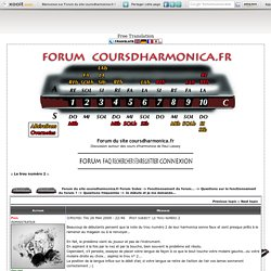 Forum du site coursdharmonica.fr