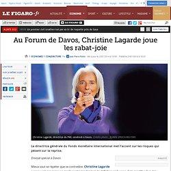 Au Forum de Davos, Christine Lagarde joue les rabat-joie