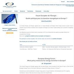 Forum Européen de l'Énergie