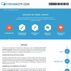 Forum innovant - forumactif.com